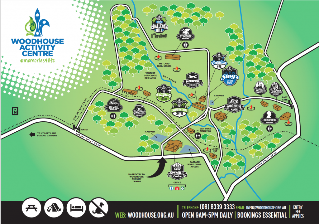 Woodhouse Centre Map