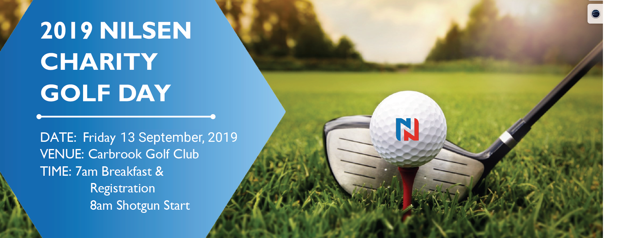 2019 Nilsen Charity Golf Day